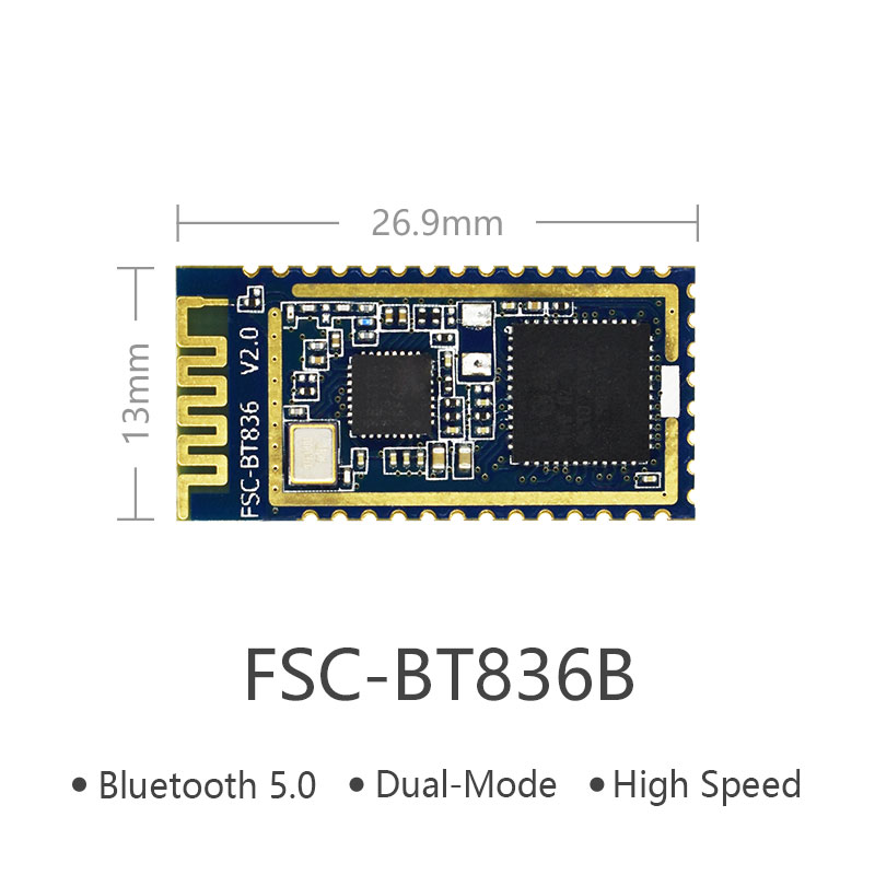 고속전송 블루투스5.0+HS Multi Connectivity Bluetooth Module | FSC-BT836B