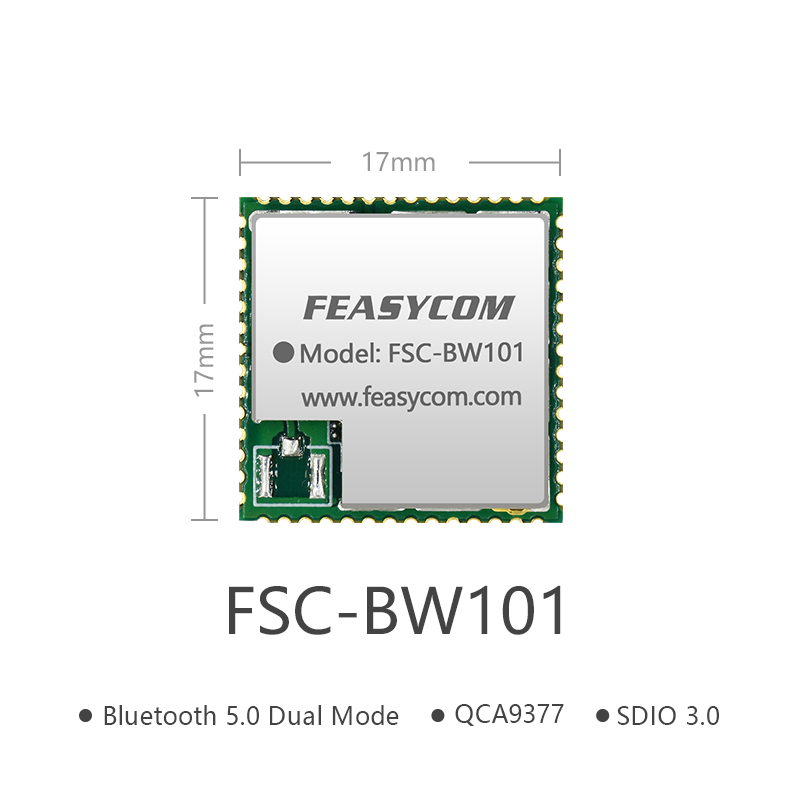 QCA9377 High-End Bluetooth & WiFi Combo RF Module | FSC-BW101